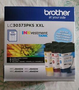 Genuine Brother LC3037 PKS XXL Cyan, Magenta, Yellow Ink Cartridges Jan/2023