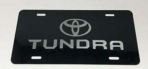 Toyota New Tundra Aluminium License Plate Highest Quality For All Vehicles