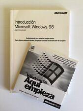 Introducción Microsoft Windows 98 sistema operativo
