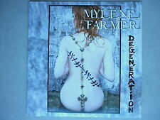 Mylene Farmer cd Promo Dégénération