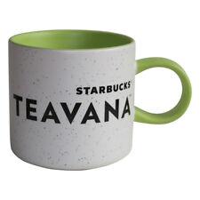 Starbucks Mug Teavana Green Speckled Limited Teetasse Grün weiss Teetasse