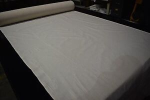 """Muslin Natural 100% Cotton Medium weight Unbleached Fabric BTY 48"""" W 3030 / 6868"""