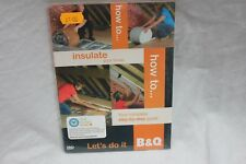HOW TO INSULATE YOUR HOME -B&Q DVD (Bin A)
