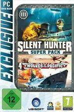 SILENT Hunter 3 + 4 * STEEL EDITION * tedesco * NUOVISSIMA
