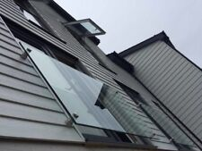 Stainless Steel 316 Grade Glass Stand off Clamps. Balustrade & Juliet Balcony