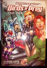 BRIGHTEST DAY - BIRDS OF PREY- END RUN - G. SIMONE, E. BENES, A. MELO- SIGNED