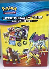 Pokemon Legendary Trio Mini Collection Trading Card Game Nintendo 2018 Coins S5