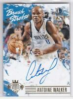 2015-16 Panini Court Kings Brush Strokes Antoine Walker #/199 Mavericks Auto