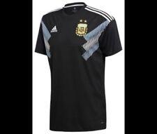 adidas Men'sArgentinaNationalTeamAwayStadium Jersey- Black/LightBlue- XL- NEW