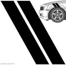 Universal 3M Vinyl Hash Mark Fender Stripes for any Car or Truck Decals