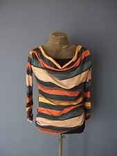 Vintage style 60s 70s look top blouse one size