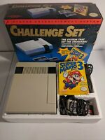 Nintendo NES Challenge Set in Original Box - Includes Mario 3 CIB RARE
