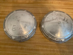 NOS Dodge Plymouth Dog Dish Hubcaps Oem Mopar # 3461450  69 70 71 72 73 74 Set 2
