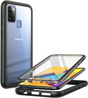 For Samsung Galaxy M31, Clayco 360° Screen Protector Case Dual Layer Shell Cover