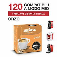 120 CIALDE CAPSULE ORZO LAVAZZA A MODO MIO ORIGINALI