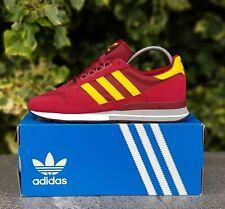 ❤ BNWB & Genuine Adidas Originals ® ZX 500 Retro Trainers in Maroon UK Size 7.5