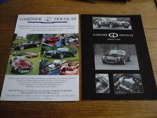GARDNER DOUGLAS COBRA REPLICA CAR BROCHURES