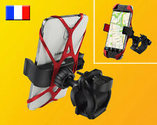 Support Universel smartphone Samsung Galaxy iphone velo moto quad guidon GPS GSM