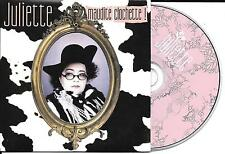 CD CARTONNE CARDSLEEVE COLLECTOR 1 TITRE JULIETTE MAUDITE CLOCHETTE 2005 FRANCE