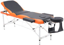 73' 3 Section Foldable Massage Table Professional Salon SPA Facial Couch Bed
