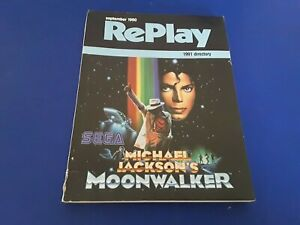 Replay Monthly September 1990-MICHAEL JACKSON'S MOONWALKER
