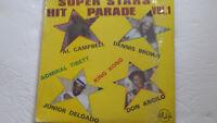 "Various Artist ""Super Stars Hit Parade Vol.1 Reggae LP Live And Love KING JAMMYS"
