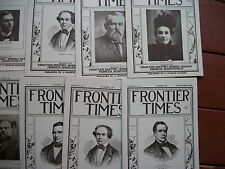 1942 12 issues Frontier Times Goodnight Loving Bowie Texas TX  History Contents