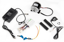 350 W 24 V electric motor kit w speed control Thumb Throttle Charger & Key lock
