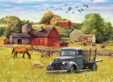 Cobble Hill Jigsaw Puzzle - Summer Afternoon on the Farm - 1000 Piece