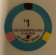 New listing Las Vegas The Cosmopolitan Casino $1 Chip — Uncirculated Combining Ship 50% Off