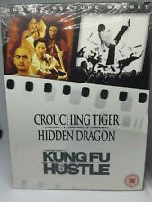 Crouching Tiger Hidden Dragon & Kung Fu Hustle (2DVD) NEW Sealed ☆FREE FAST POST