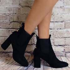 High (3 in. and Up) Suede Pull On Casual Boots for Women
