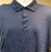 285d06ea4d0ec Bugatchi UOMO Men's Polo Shirt Blue Large