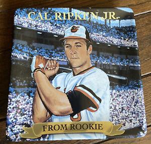 """1999 Cal Ripken Jr. """"From Rookie"""" Bradford Exchange Plate Rare MLB"""
