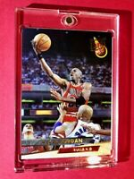 Michael Jordan 1993-94 FLEER ULTRA HOT INVESTMENT CHICAGO BULLS CARD - Mint!