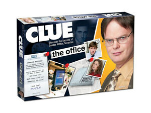 CLUE: The Office Edition Board Game SEALED UNOPENED FREE SHIPPING
