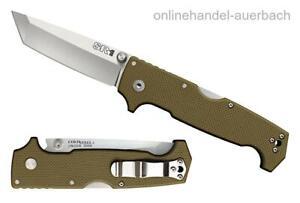 COLD STEEL SR1 Tanto Point  Taschenmesser Klappmesser Messer