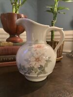 Vintage McCoy Pottery Pitcher, 1 Qt, Painted, Excellent