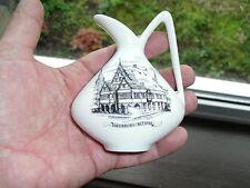 Vintage LINDNER Kuer Bavière Pottery AIGUIERE/pichet, PADERBORN Rathaus
