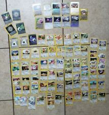 100+ Pokemon Cards Custom Deck ONLY Vintage with Holographic Rares Card Energy