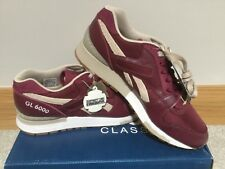 REEBOK X Distinct Life GL6000 UK9.5 RRP £119 Burgundy