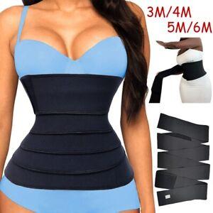 Snatch Me Up Waist Support Fajas Long Torso Body Shaper Sweat Slimming Belt