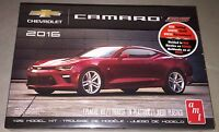 AMT 2016 Chevy Camaro SS 1/25 scale red plastic model car kit new 979