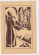 CP ART TABLEAU RELIGION Saint Benoit protecteur de la jeunesse