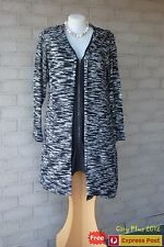 Winter City Chic Dress - Size M (18) - CARDI SPACEDYE Black - New with tags