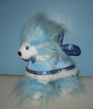 "Animal Alley Aqua Angel Poodle 8"" Plush Purse"