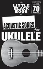 Little Black Songbook Of Acoustic Songs For Ukulele Rock POP UKE Music Book