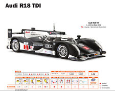 Slot.it Audi R18 Winner Le Mans 2011 No. 1 M 1:32 neu
