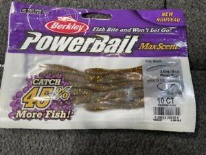 berkley powerbait maxscent flat worm