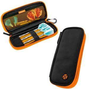 Harrows Z200 Darts Case Wallet Black & Orange 190mm x 85mm x 30mm
